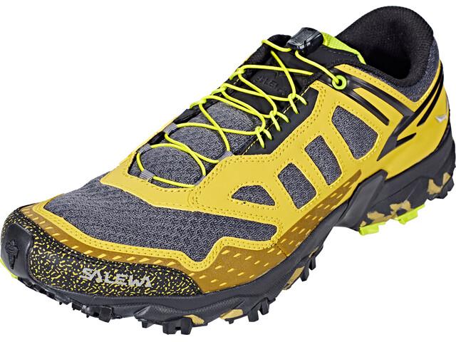Salewa Ultra Train - Zapatillas running Hombre - amarillo/gris